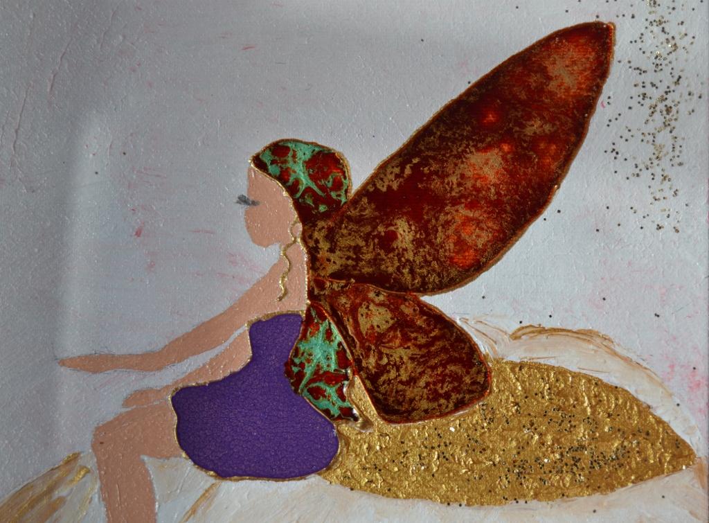 Top Faire un tableau en relief avec des peintures Pébéo vitrail et Fantasy JR49
