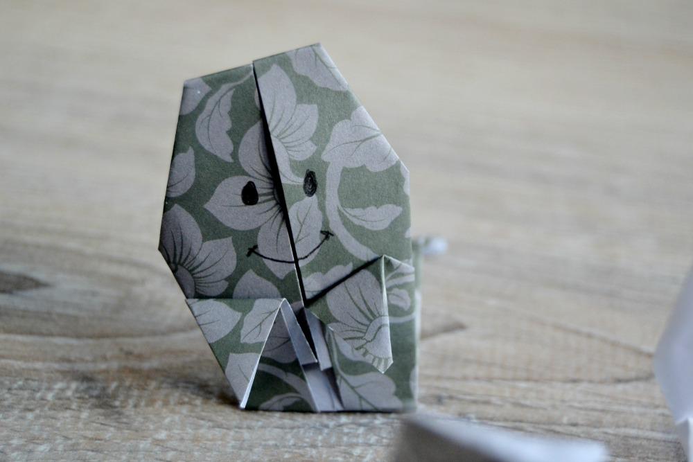 origami fantome