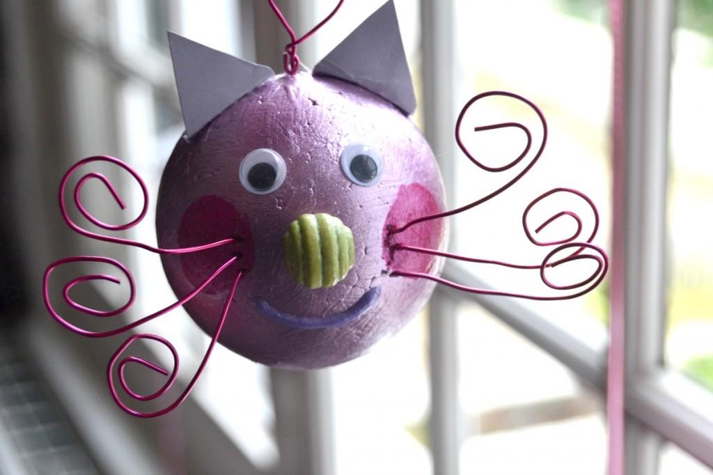L 39 activit du mercredi faire une boule de no l maman - Comment fabriquer une boule de noel ...