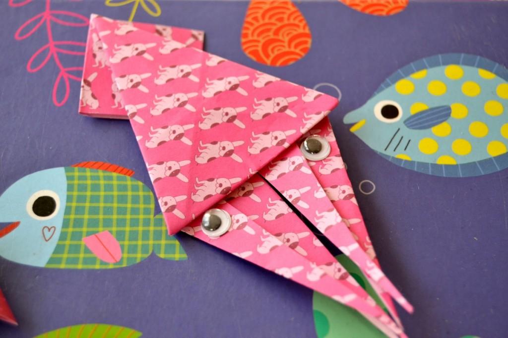 calamar origami