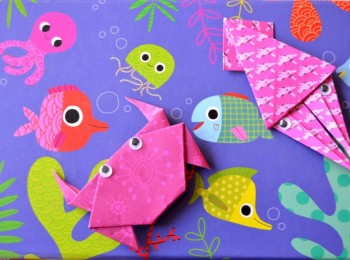 crabe origami