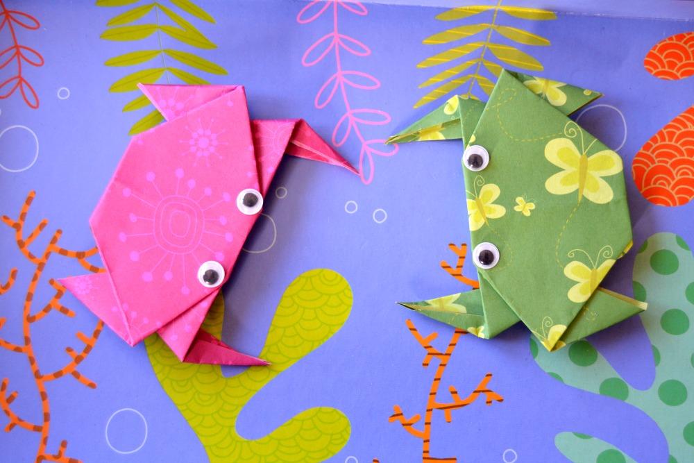 crabes en origami