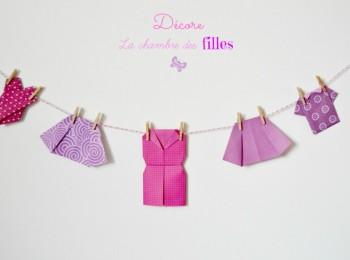 vêtements origami