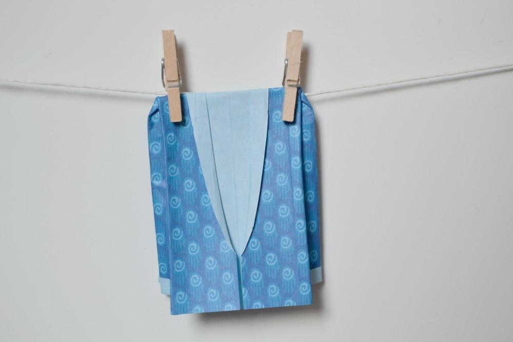 veste origami