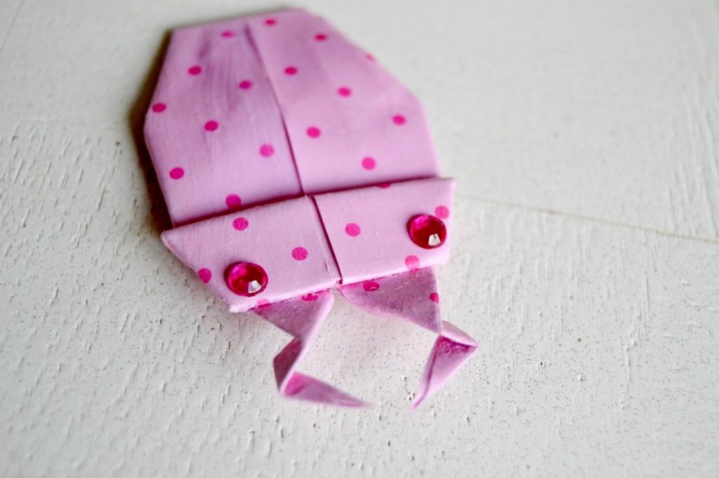 coléoptère origami