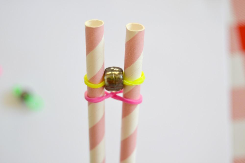 rainbow loom perles étape 2