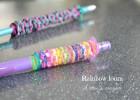 L'étui à crayons Rainbow loom