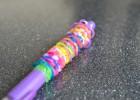 Rainbow loom pencil