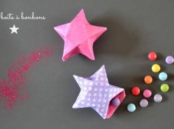 boite à bonbons étoile