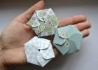 hexagonal candy box