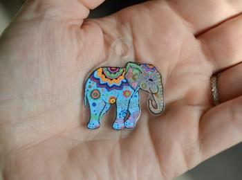 éléphant plastique fou