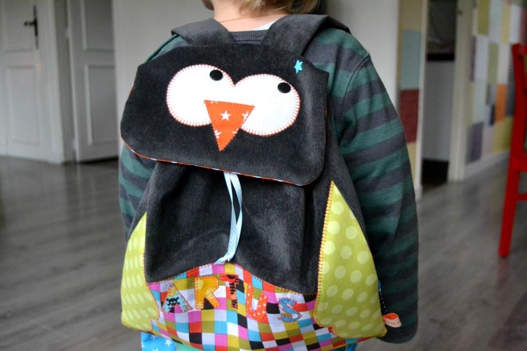 sac à dos enfant couture