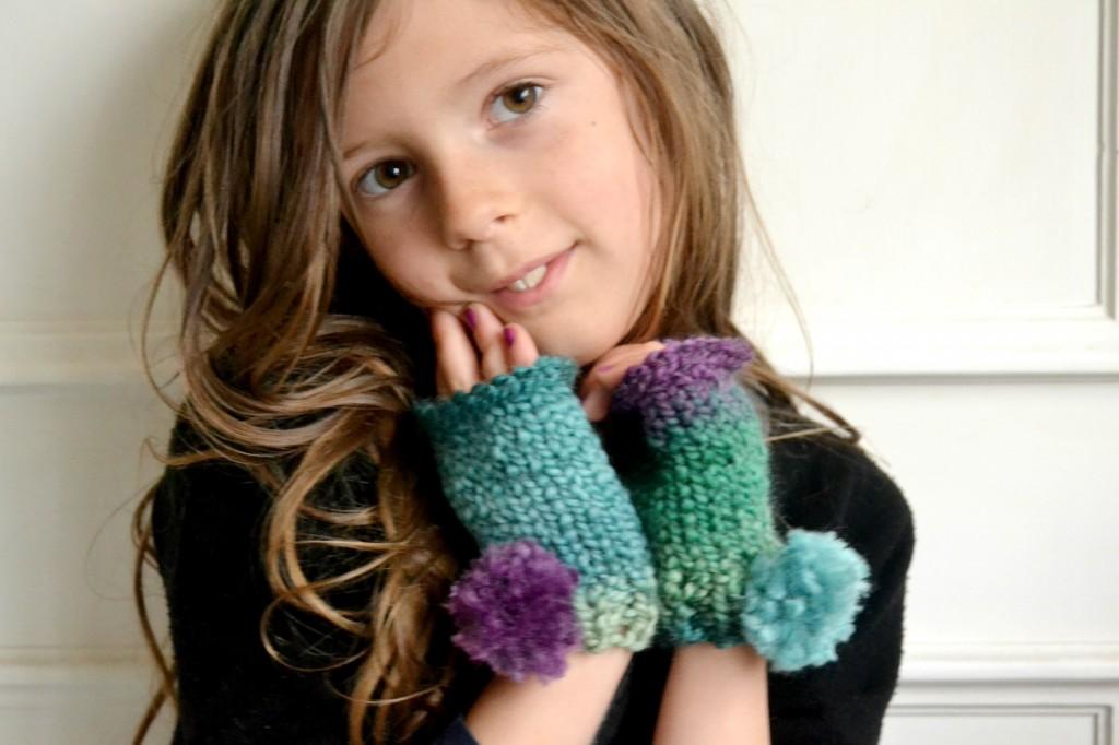 tricot mitaine