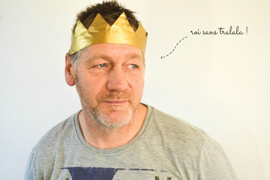 couronne papier de soie