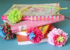 pompons marque-pages
