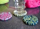 sous-verres tricotés