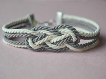 bracelet noeud corde