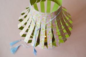 lanternes magiques en papier