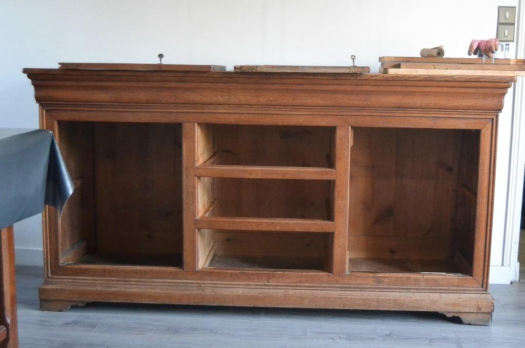 Le tr s vieux meuble d coration maman tout faire - Renover un meuble ...