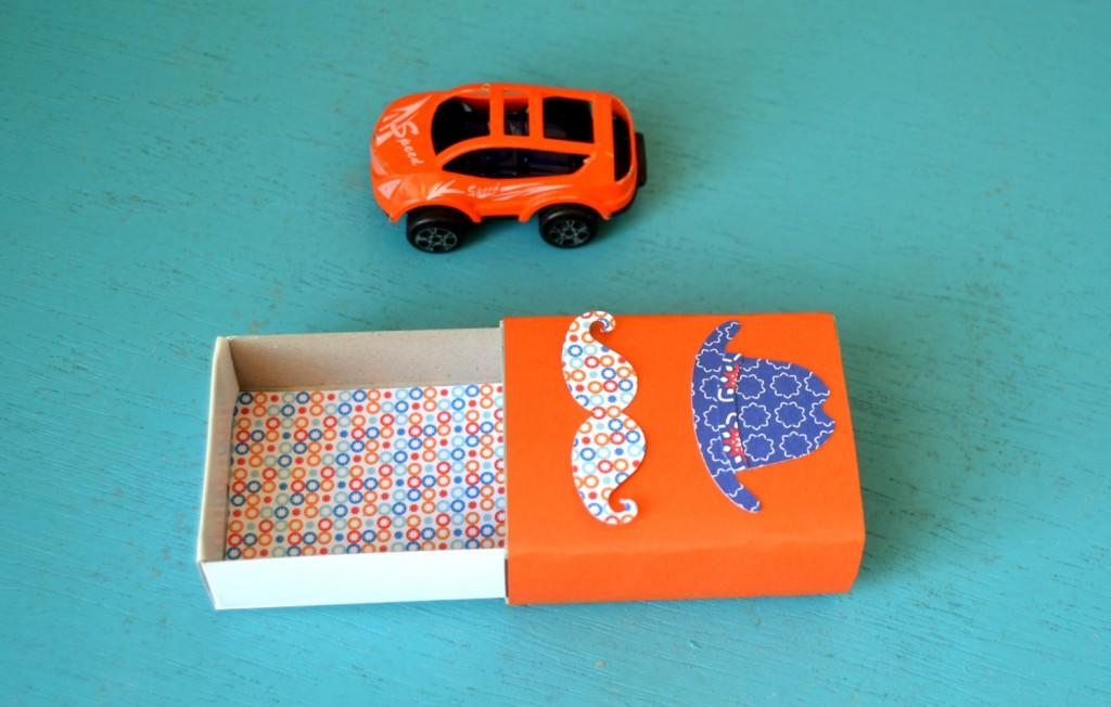boites d'allumettes décorées