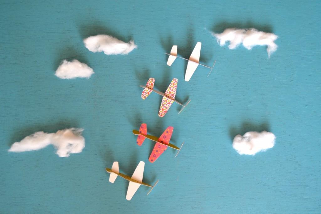 avions papier