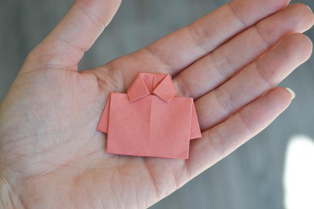 origami chemise