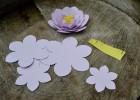 faire fleur en papier