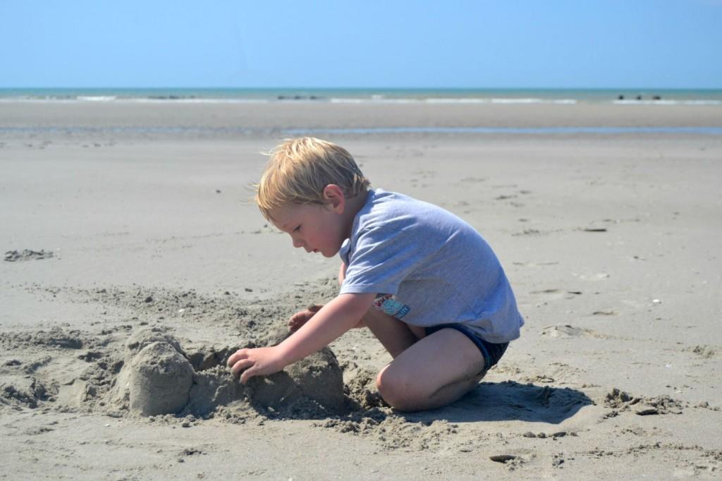 faire des chateaux de sable