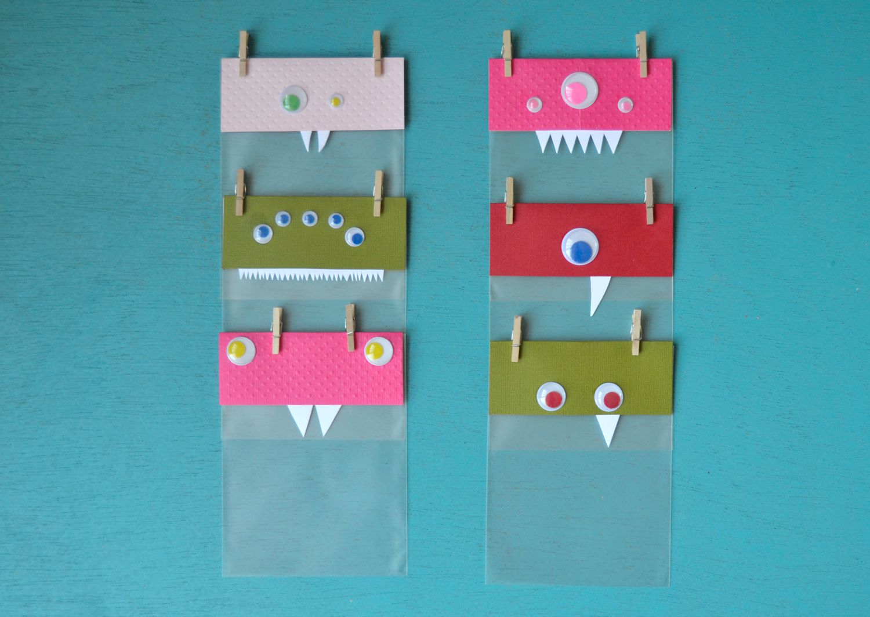 Faire Des Sacs Pour Bonbons : Halloween sacs de bonbons monstres maman ? tout faire