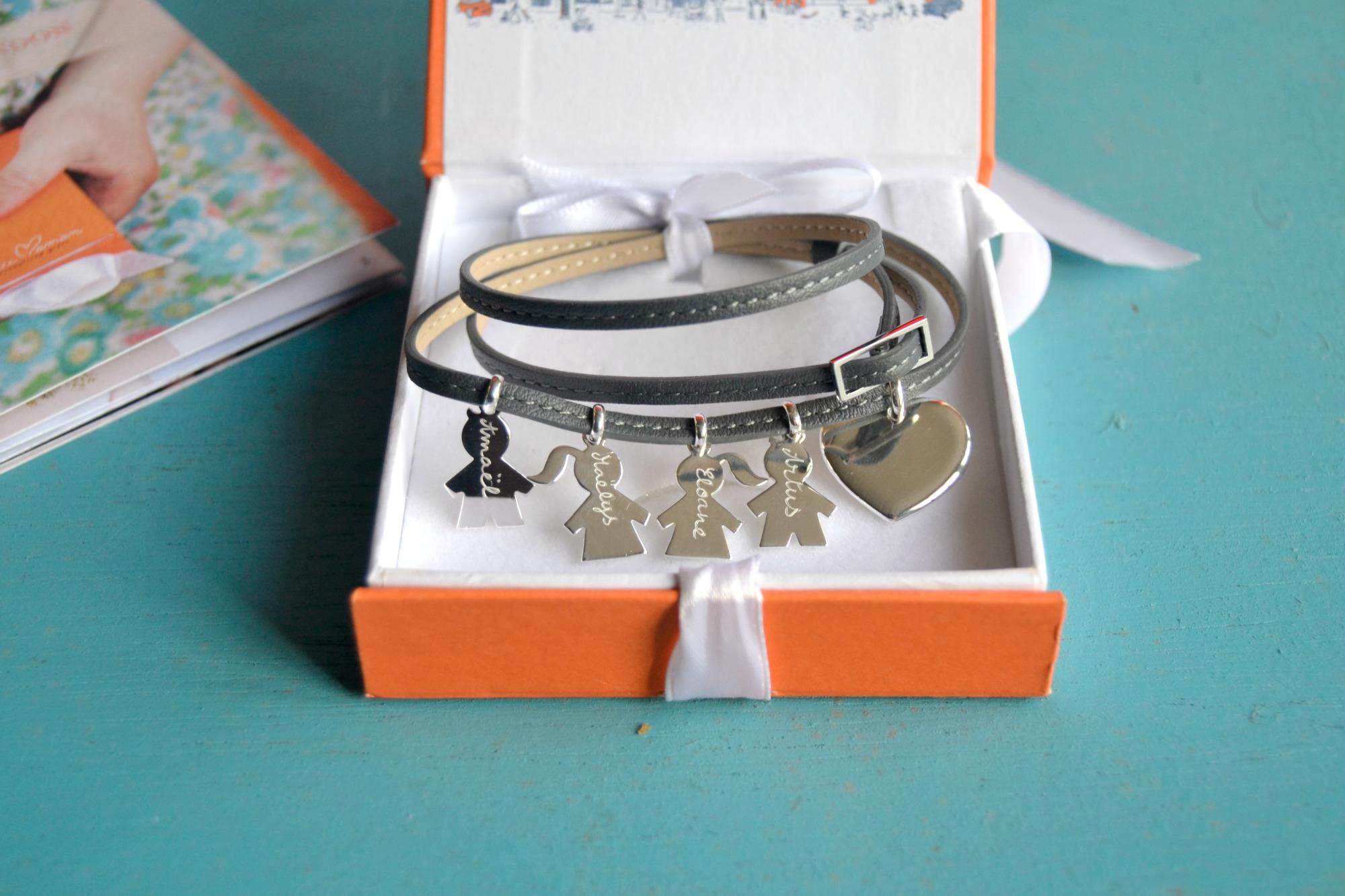 bijoux personnalisés Merci Maman