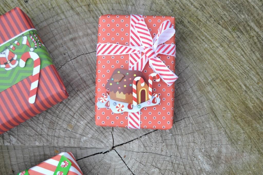 cadeaux Noël rouge et vert