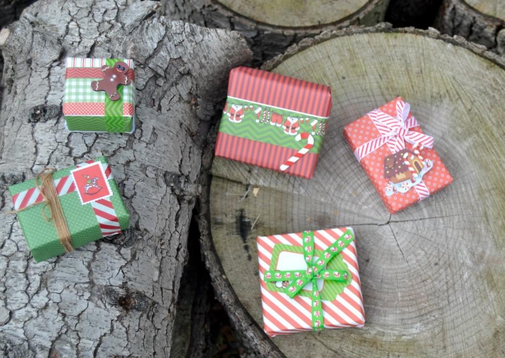 cadeaux papier de Noel