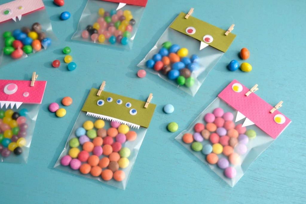 sacs de bonbons monstres