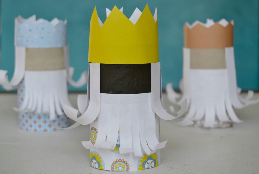 rois mages papier