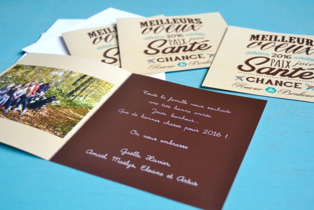 Concours gagnez des cartes de voeux personnalis es - Carte de voeux personnalisee photo ...