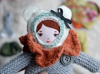 faire une poupée en tissu -kit