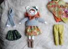 vêtements en tricot poupée