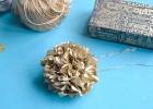pompon en papier de soie
