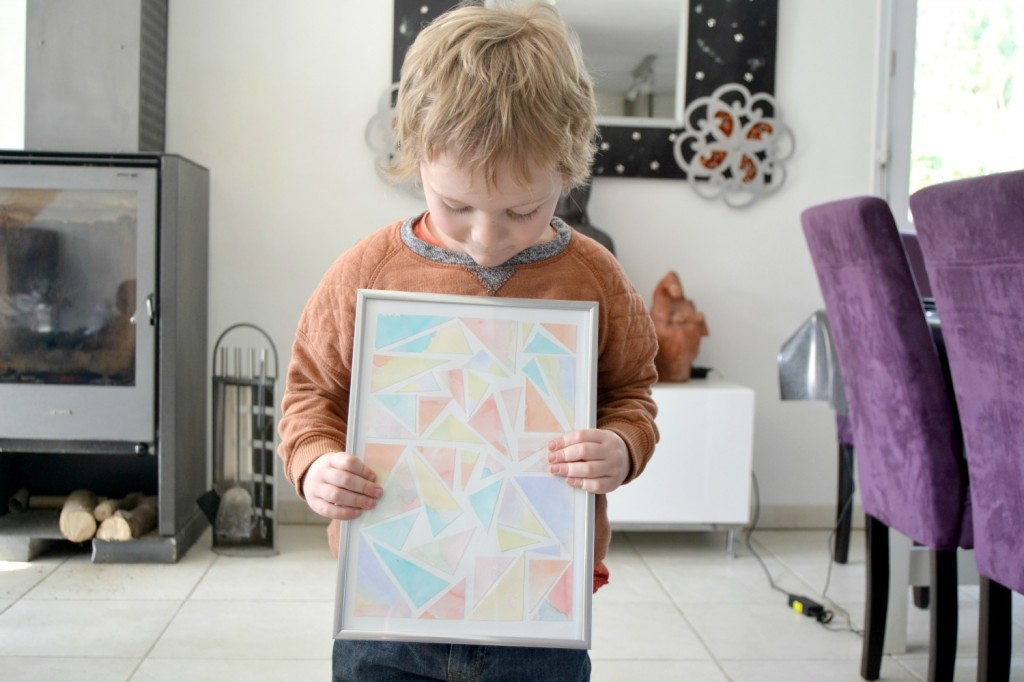 exposer les dessins des enfants