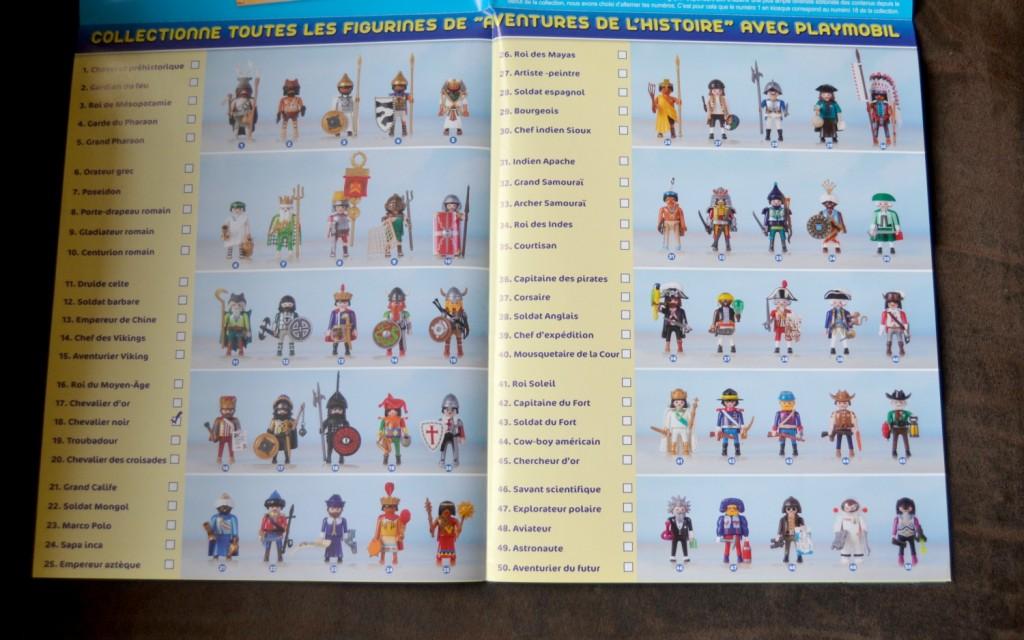 figurines playmbils histoire