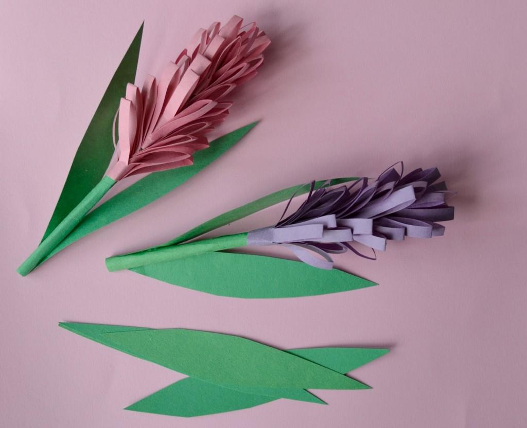 jacinthes en papier
