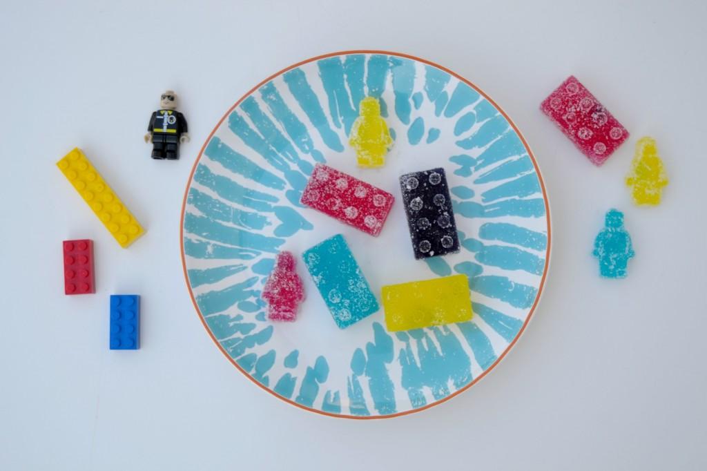 faire des bonbons Lego