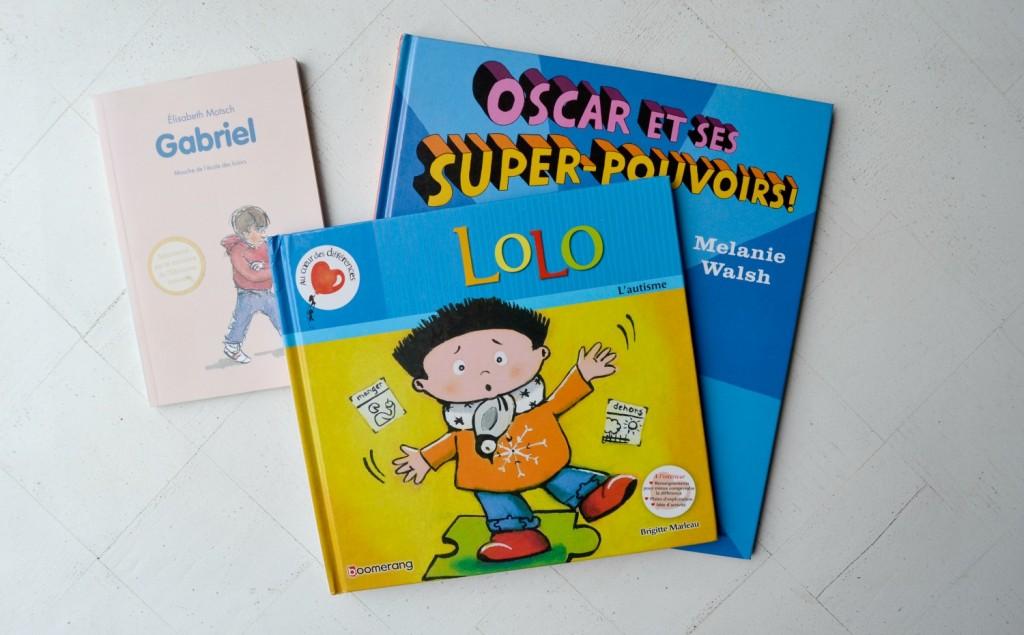 livre pour les enfants autisme