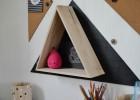étagère triangulaire