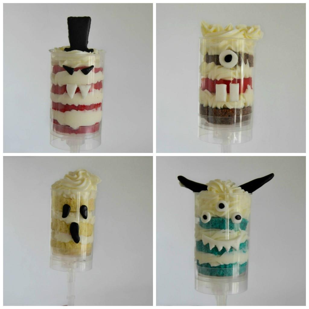 Push cakes Halloween