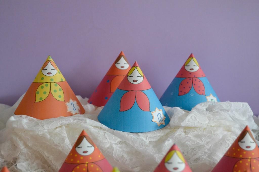 poupées russes papier