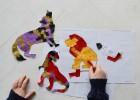 activité collage pour les enfants