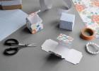 mini boite en papier