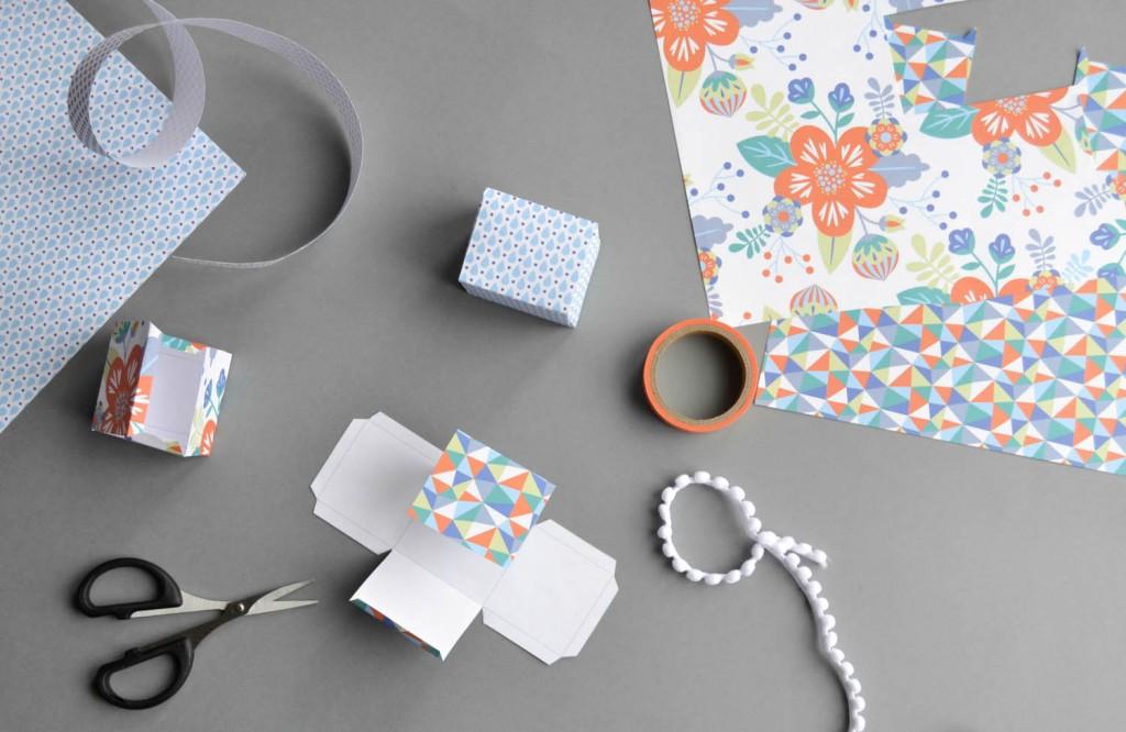 printable boite en papier