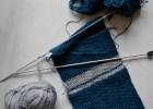 tricot point de riz